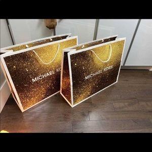 MK Michael Kors Paper Bags
